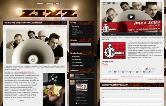 A Zizz rendesen bemutatja a zenekart, nem tudunk kisebb screenshotot csinálni :)